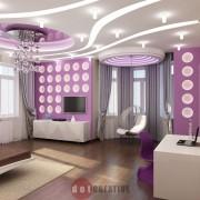 спальня в стиле хай-тек в загородном доме