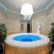 комната с бассейном дизай ар-деко