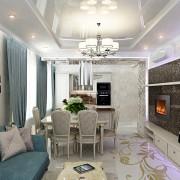 отличный дизайн гостиной квартиры