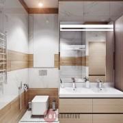 дизайн ванной хай тек