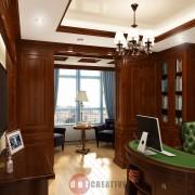 классический кабинет интерьер оформления