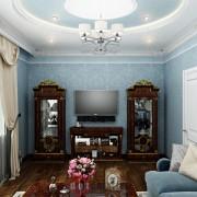 красивая спальня коттеджа дома