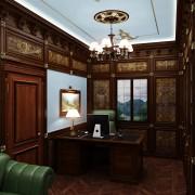 разработка дизайна кабинета