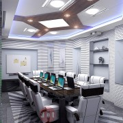 интерьер переговорной комнаты в офисе