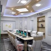 дизайн комнаты для переговоров в офисе