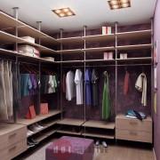 интерьер гардеробной комнаты дизайн оформление